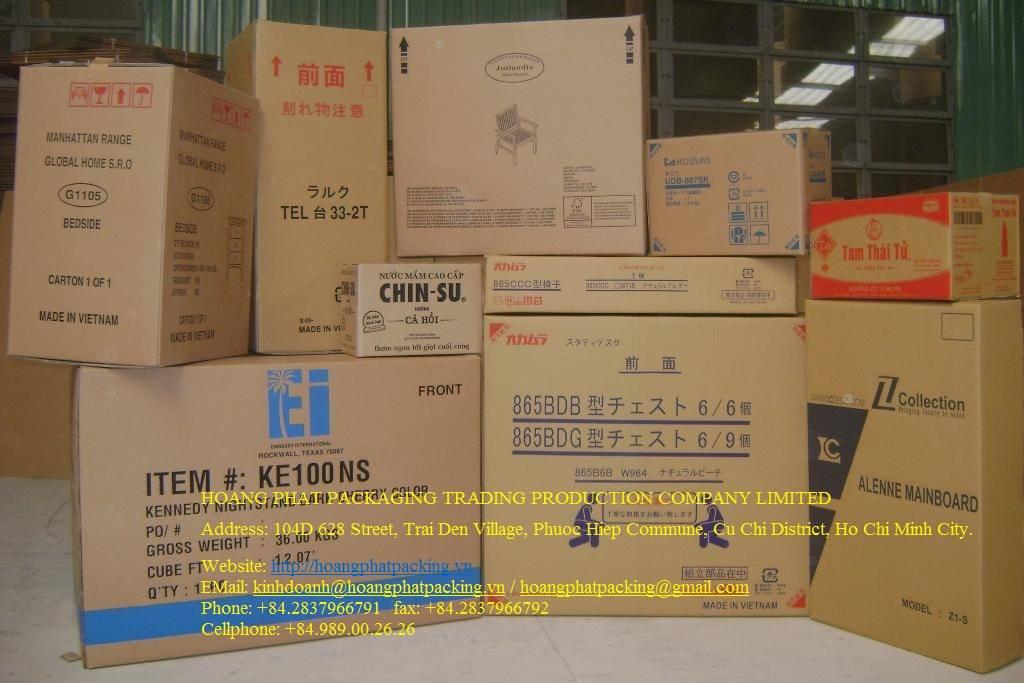 Thùng giấy, bao bì giấy tại Biên Hòa Đồng Nai, Ninh Thuận, Bình Thuận, Vũng Tàu, Bình Phước, Long An, Phú Yên, ...